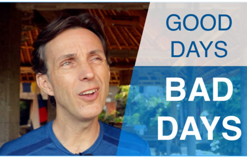 Good days, bad days...how to manage?