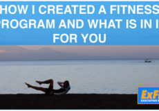 How I created a fitness program and what is in it for you