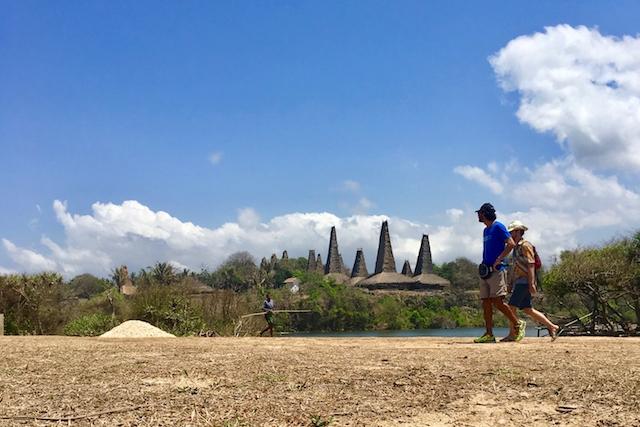 Traditional Sumbanese village